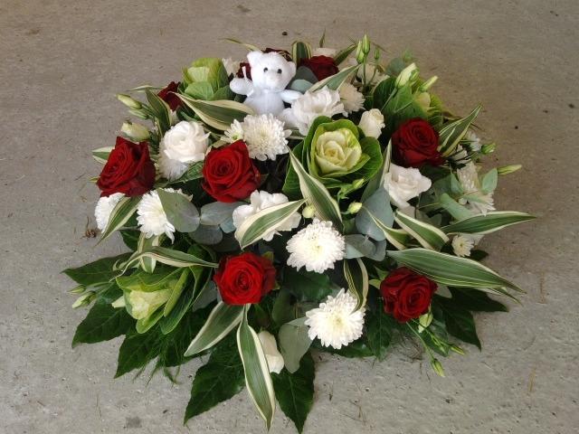Fleurs deuil homme pivoine etc for Bouquet de fleurs homme