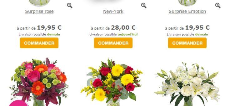 livraison fleurs pas cher - pivoine etc
