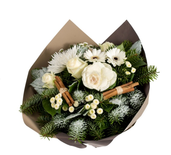 Bouquet fleur noel pivoine etc for Composition florale exterieur hiver