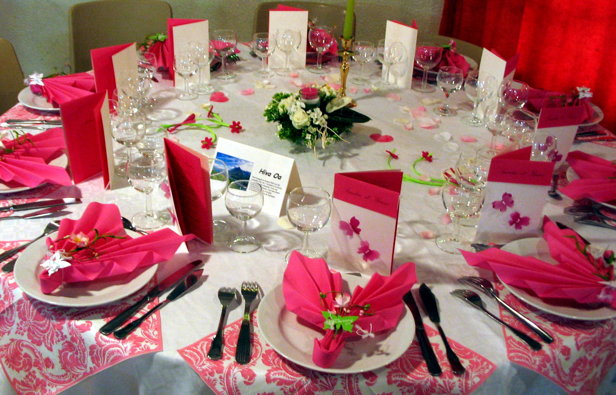 best deco de fleurs pour table with deco table campagnarde