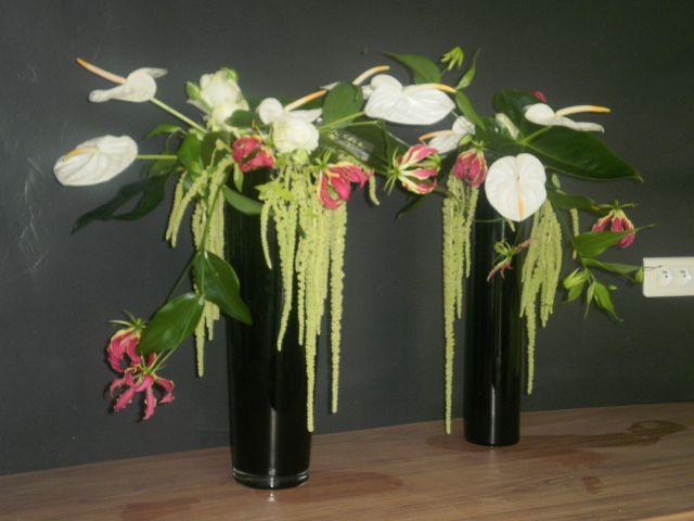 Grande composition florale pivoine etc for Composition florale exterieur hiver