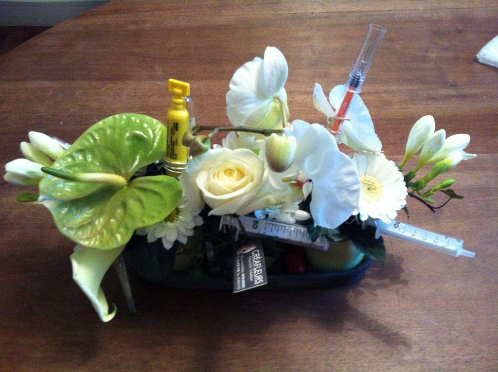 Composition florale allong e pivoine etc Composition florale exterieur hiver