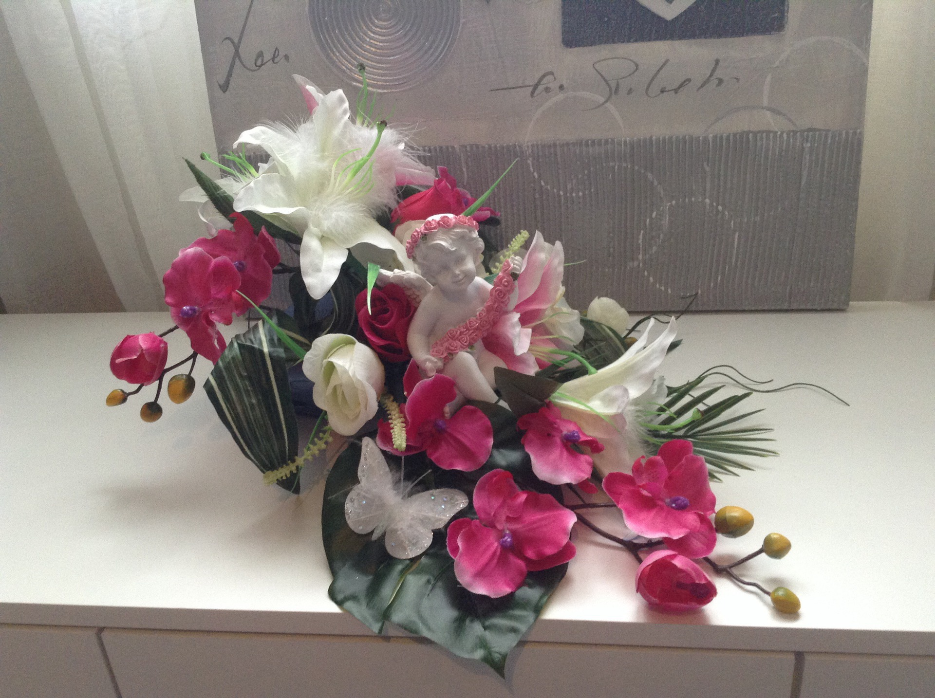composition florale originale pour mariage pivoine etc. Black Bedroom Furniture Sets. Home Design Ideas