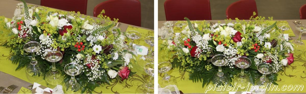Bouquet de fleurs pour table mariage pivoine etc - Bouquet de table pour mariage ...
