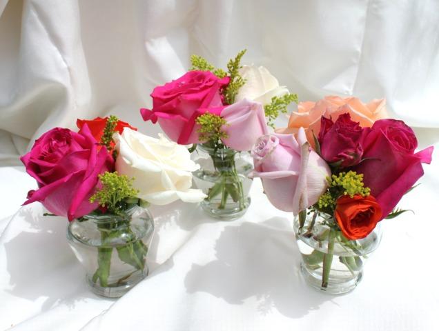 Mariage de fleurs pivoine etc - Centre de table fleur mariage ...