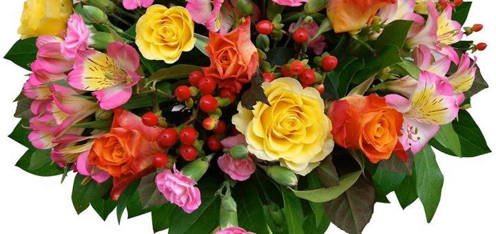 Gros bouquet de fleurs anniversaire pivoine etc for Gros bouquet de fleurs