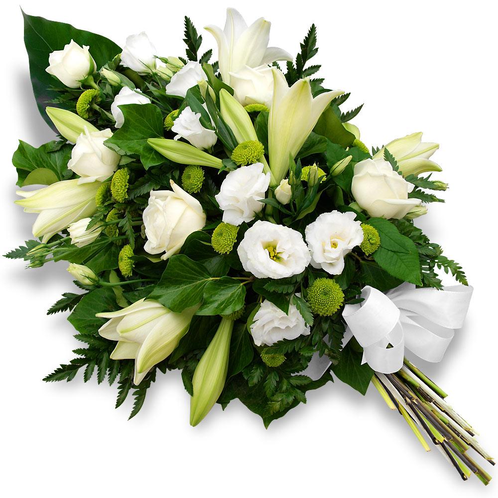 Envoi gerbe pour enterrement pivoine etc for Envoi fleurs