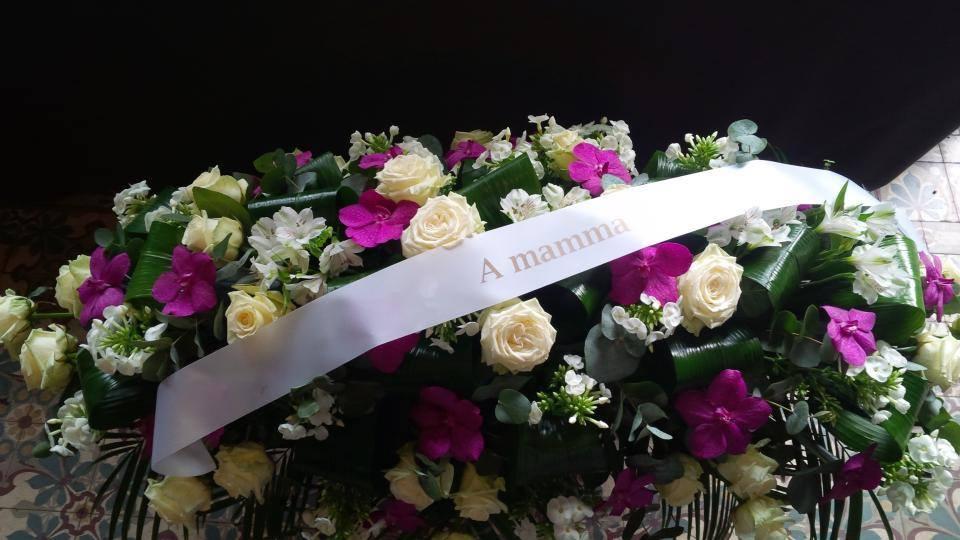 exemple texte ruban couronne mortuaire