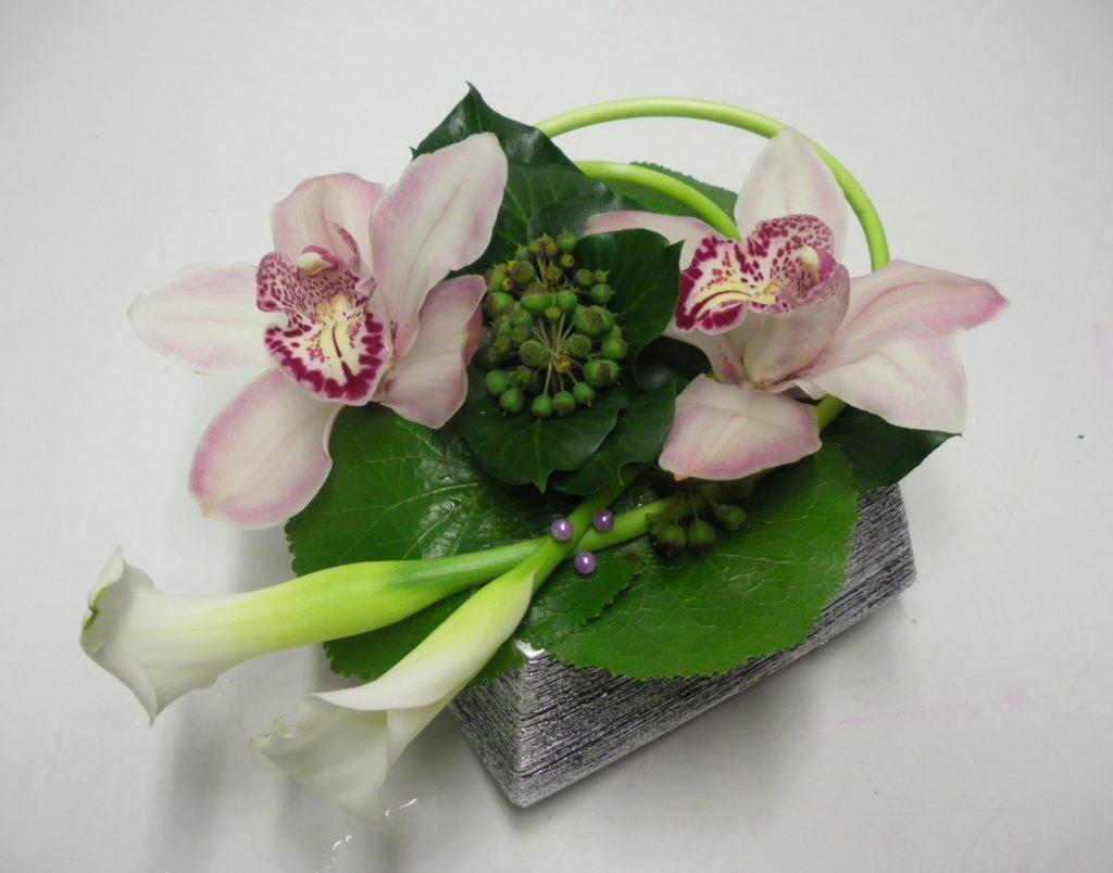 petite composition florale pivoine etc. Black Bedroom Furniture Sets. Home Design Ideas