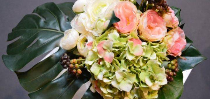 bouquet de fleurs artificielles pivoine etc. Black Bedroom Furniture Sets. Home Design Ideas