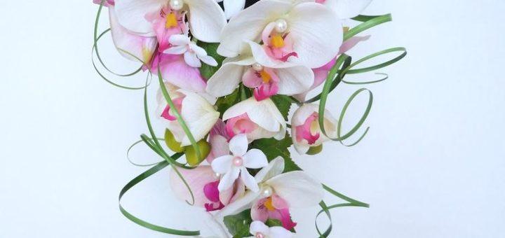 bouquet orchid e pivoine etc. Black Bedroom Furniture Sets. Home Design Ideas