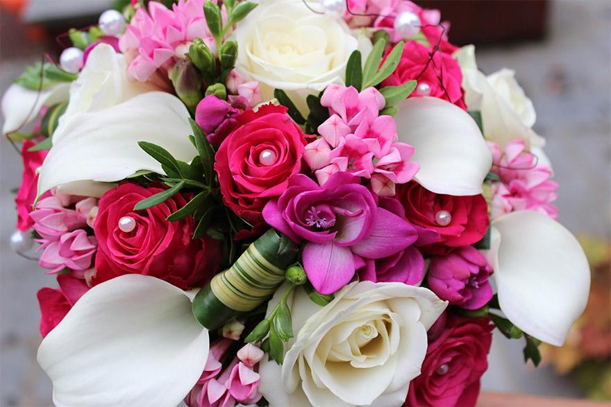 Fleur de mariage - pivoine etc